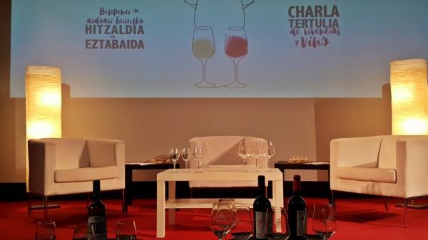 El vino es salud, escenario Gasteiz