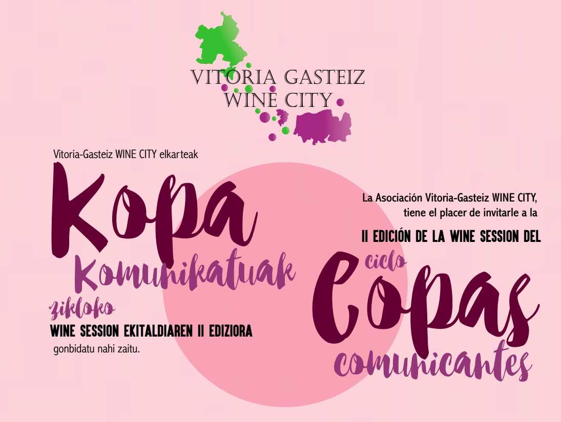 II edición de la Wine Session del ciclo Copas Comunicantes