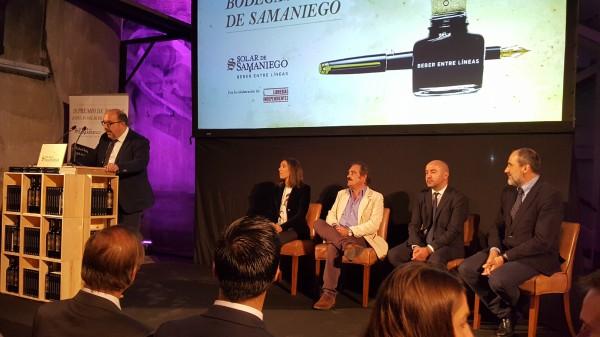 III Premio de Novela Bodegas Solar de Samaniego