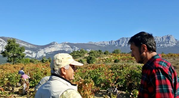 Campesinos en Rioja Alavesa