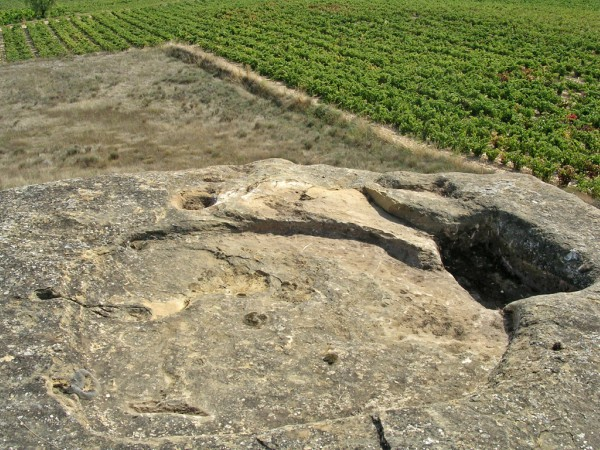 Lagares rupestres de Rioja Alavesa
