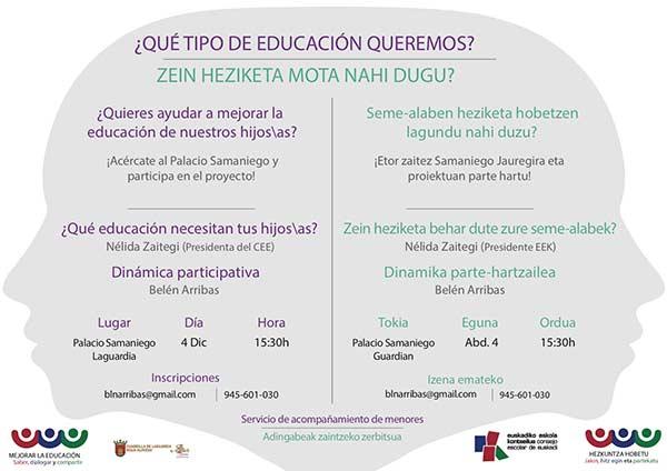 Mejorar la educación. Saber, dialogar y compartir