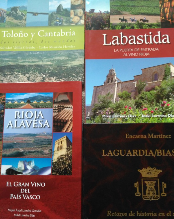 Libros sobre Rioja Alavesa
