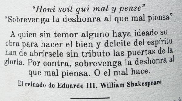 Shakespeare-Etiqueta