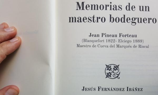 Memorias de un maestro bodeguero