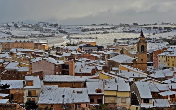 Nieve en Rioja Alavesa