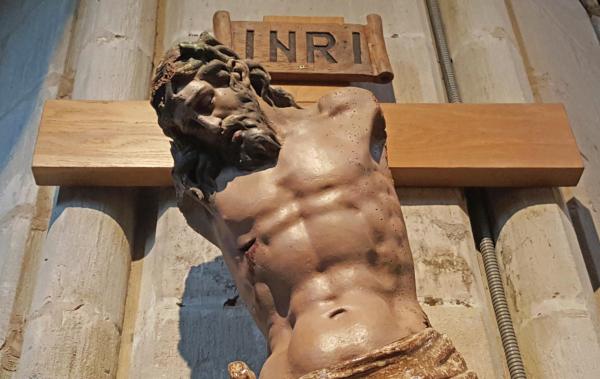 Cristo roto de Laguardia
