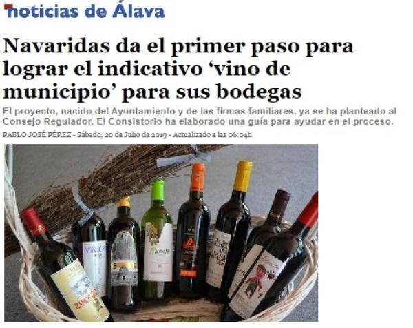 Relato de Rioja Alavesa
