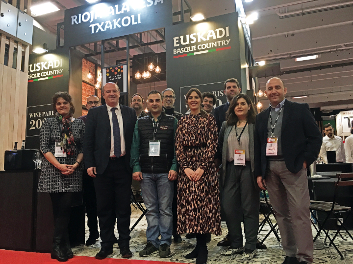 Promoción internacional de las bodegas de Euskadi