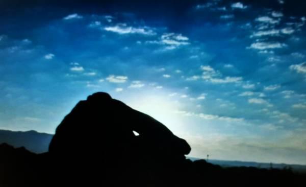 Dolmen-amanecer